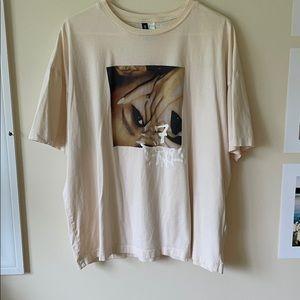 Ariana Grande Cream Short Sleeve T-shirt